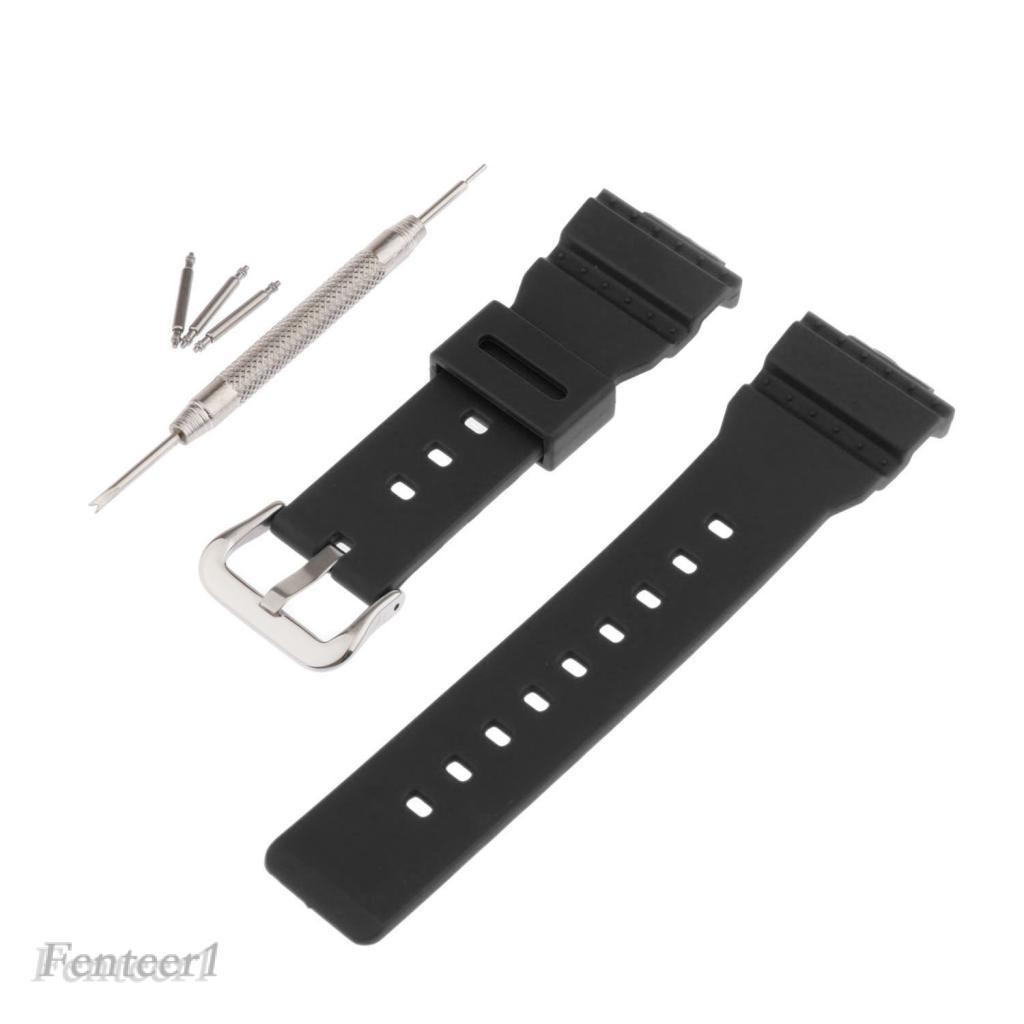 Dây đeo đồng hồ bằng nhựa cho đồng hồ Casio BABY-G BA-111