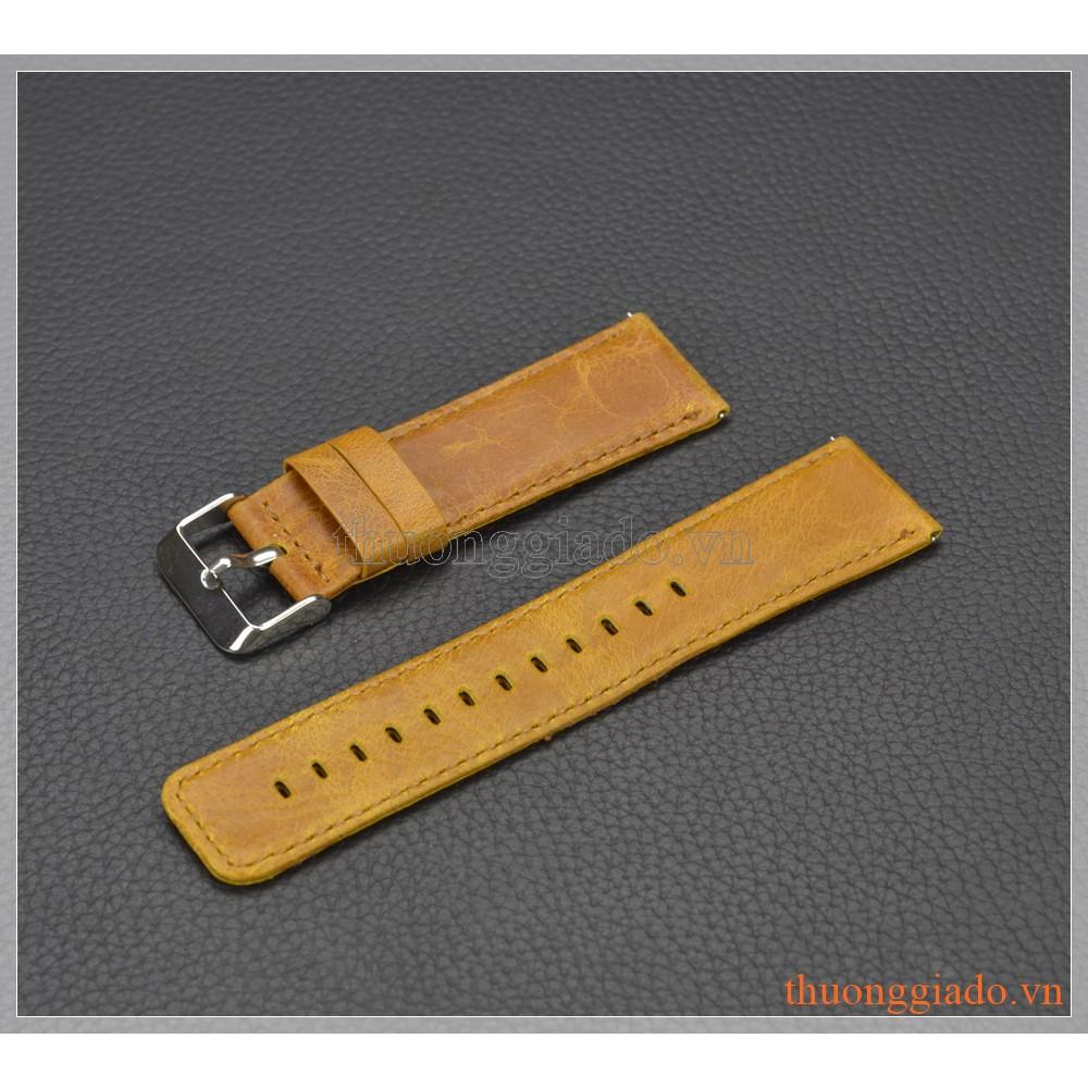 Dây đeo tay thay thế cho Fitbit Blaze (da bò, mẫu 2)