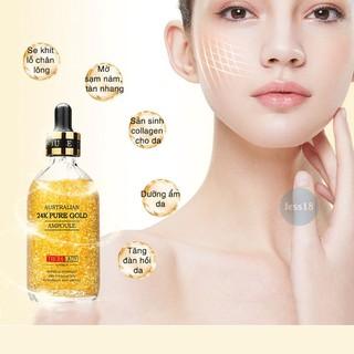 Tinh chất Serum vàng 24k Úc Pure Gold Ampoule Thera Lady giúp da căng bóng, mờ thâm mụn, nám, tàn nhang, date xa- Jess18