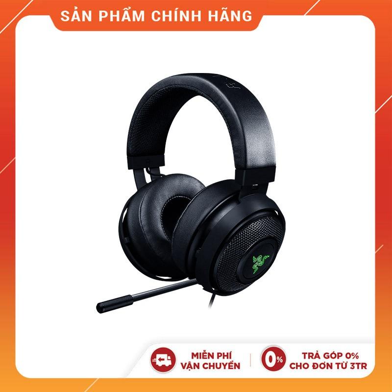 TAI NGHE Razer Kraken Pro V2 Black – Oval Ear Cushions -RZ04-02050400-R3M1