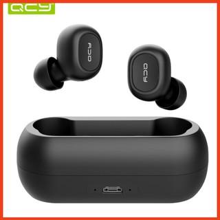 Tai nghe nhét tai không dây QCY T1 - QCY T2C công nghệ Bluetooth 5.0 (có dock tự sạc) <RẺ VÔ ĐỊCH>