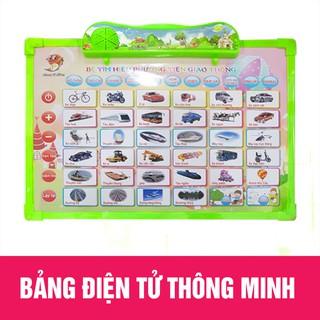 Bảng học điện tử thông minh 6 chủ đề Anh- Việt cho bé