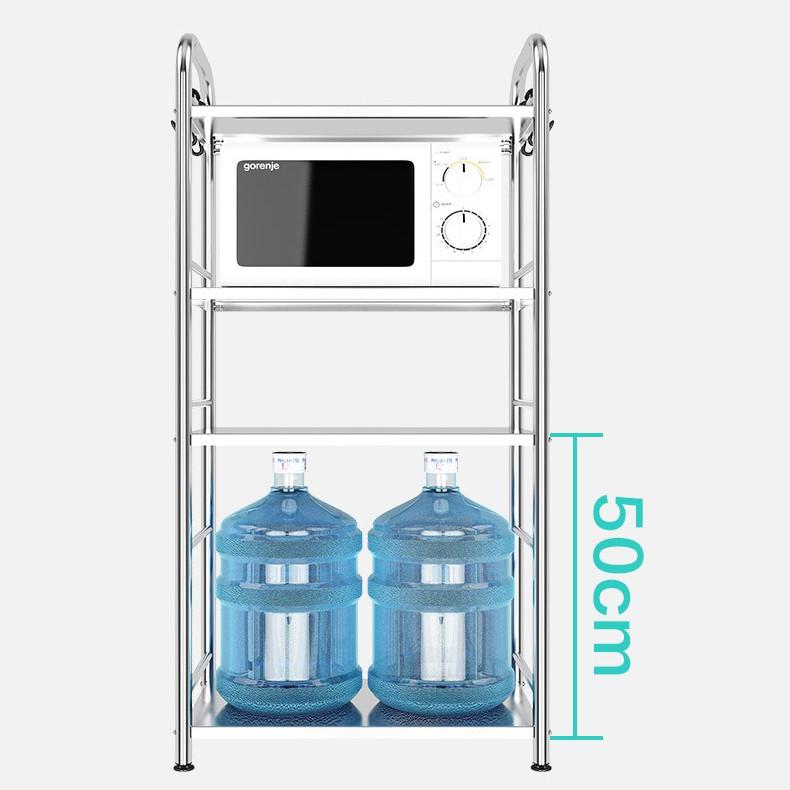 Giá kệ Inox 304 VANDO để đồ đang năng lò vi sóng, nồi cơm điện, để gia vị