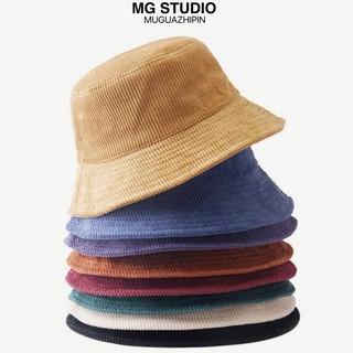 Mũ Tai Bèo MG STUDIO Chất Nhung Gân 12 Màu Sắc Xinh Xắn Tùy Chọn