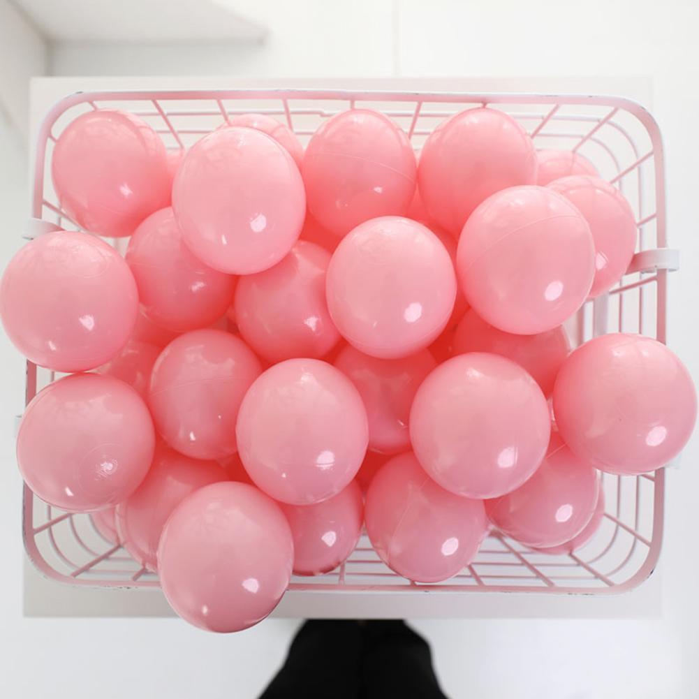 100pcs Baby Safe Soft Plastic Balls Play Pool Ocean Balls for Kids Toy Gift
