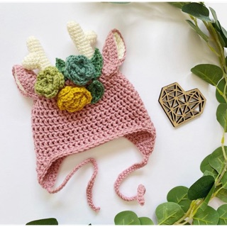 Mũ len pink 🦄🦄🦄 xinh cho bé yêu 💜