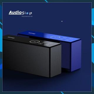 Loa bluetooth FM - Thẻ TF SD - AUX 3.5mm kết nối máy tính - menu điều khiển cảm ứng - model sanag x8  (vthm9)