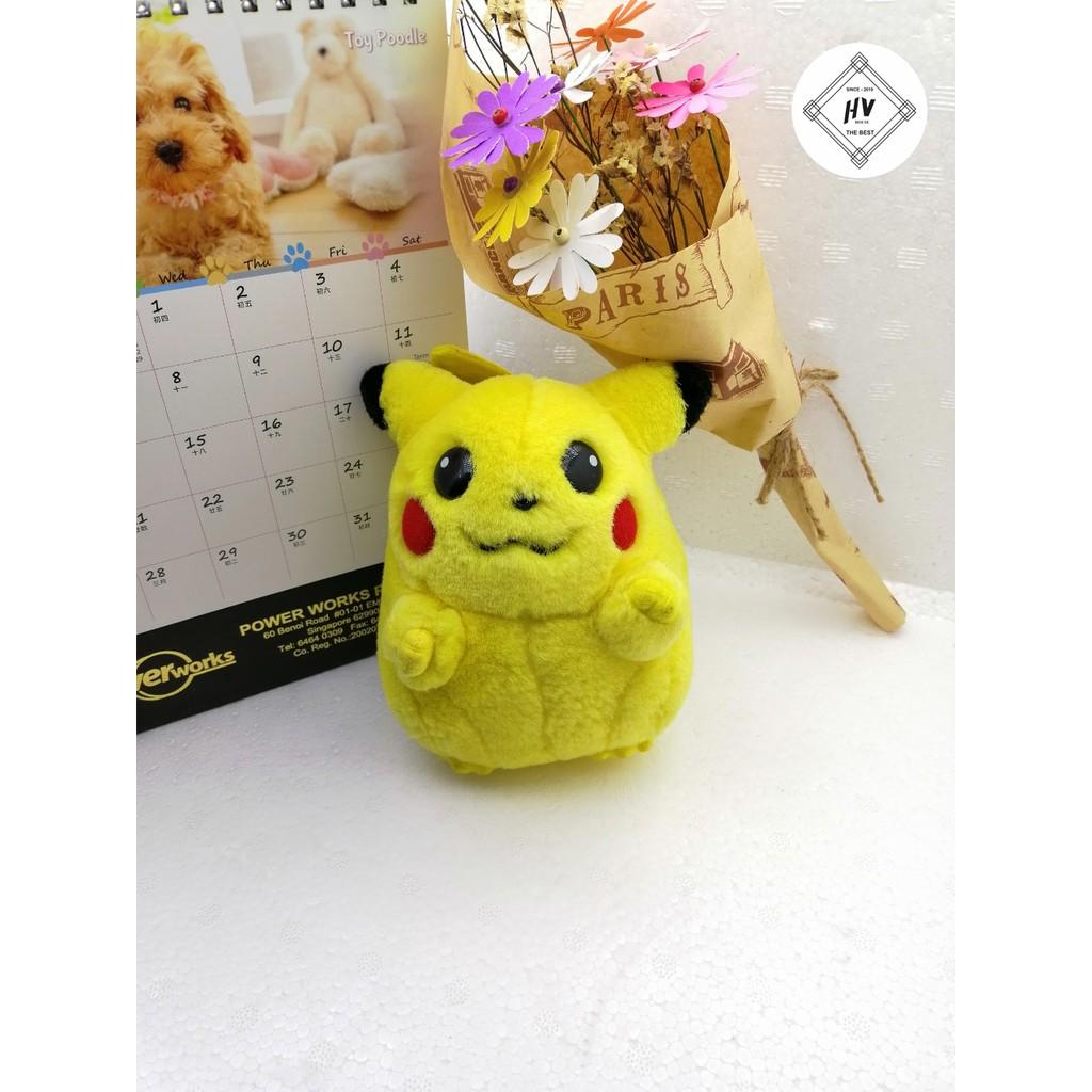 Gấu Bông Pikachu 15 cm siêu kute ,ảnh thật 100%Trang trí bàn học,bàn làm việc