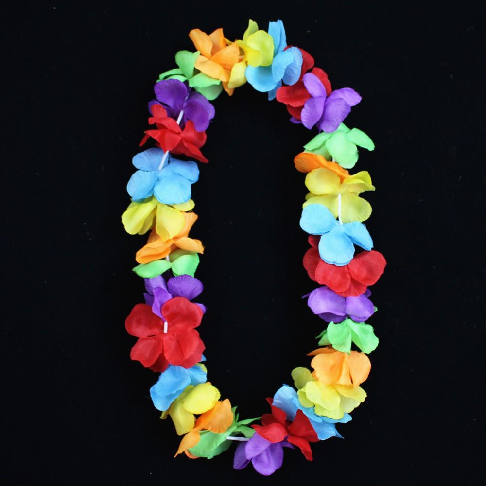 宸 Tao 70g special offer hula dance matching wreath large garland suit grass skirt accessories single garland chest ring