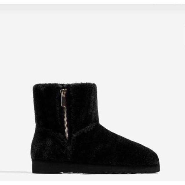 Boot lông zara