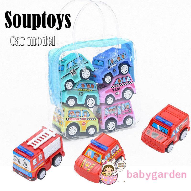 RVR-Hot Baby Kids Clockwork Funny Toy Cartoon Clockwork Car Set Educational