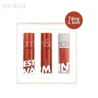 [Tặng Son] Son Mini Siêu Lì Romand Best Tint Edition 2g