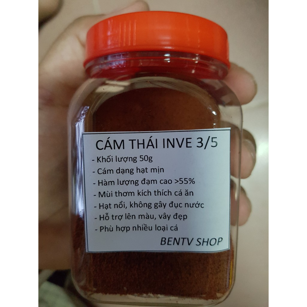 Cám Thái INVE 3/5 | Thức Ăn Cao Cấp Cho Cá Guppy, Betta