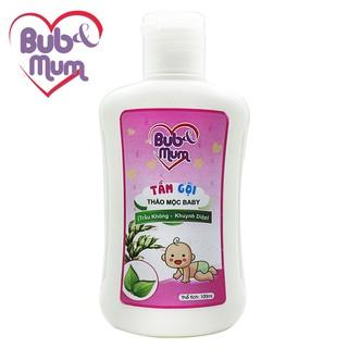 Sữa Tắm Gội cho bé 100ml BuB MuM chiết xuất Trầu Không và Khuynh Diệp giữ ấm cơ thể