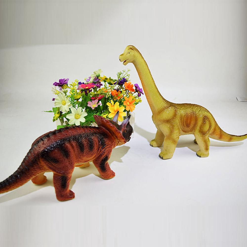 Large Rubber Toy Dinosaur Model Play Figures Stuffed Action Figure For Kid