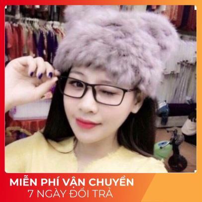 Kính Giả Cận Hawky P154 Kính Giả Cận Nữ Gọng Dẻo, Style Hàn Quốc - Màu Đen Và Trong Suốt
