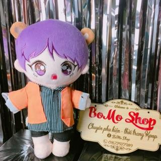 Doll BTS 20cm kèm Outfit (Sẵn )