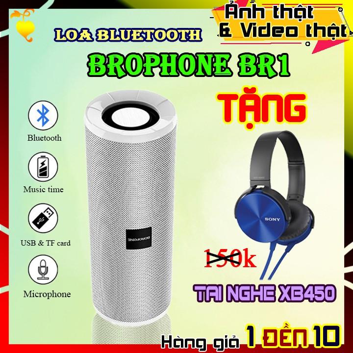 CAM KẾT LỖI 1 ĐỔI 1 | COMBO LOA BOROFONE BR1 + TAI NGHE XB450 | loa bluetooth. tai nghe nhạc. tai nghe chụp tai