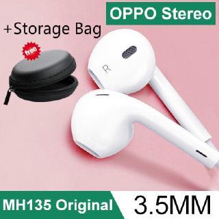 Tai nghe nhét tai 3.5mm chính hãng OPPO 100% MH135