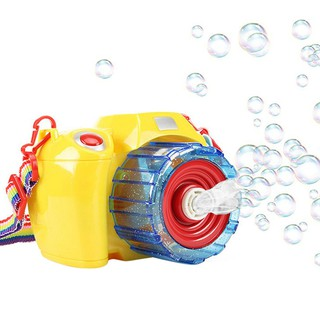 Bubble Blowing Toys for Kids Automatic Electric Light Music Camera Summer Outdoor Children Toys