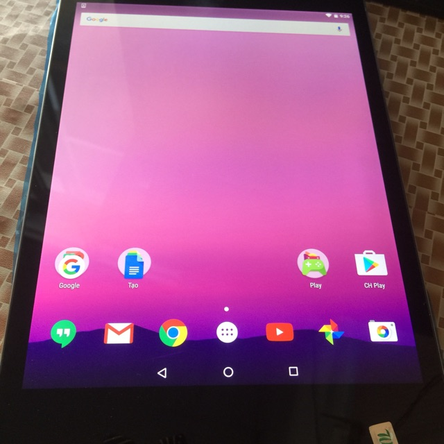 Máy Tính Bảng Nexus 9