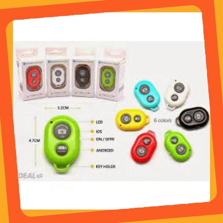 Hàng mới Remote chụp ảnh cho điện thoại Bluetooth Shutter siêu  rẻ