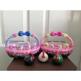 Trứng hachimal cho bé lẵng hoa set 6q ( hàng đẹp ,hình thật sản phẩm)