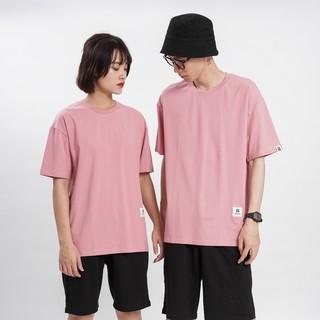 Hình ảnh [Mã FAMAYMA giảm 10K đơn 50K] Áo thun Unisex N7 Basic Tee phông trơn nam nữ tay lỡ oversize form rộng 12 màu-4