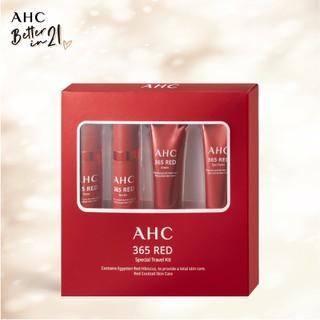 Bộ 4 Sản Phẩm Chăm Sóc Da Đặc Biệt Tiện Lợi AHC 365 Red Special Travel Kit thumbnail
