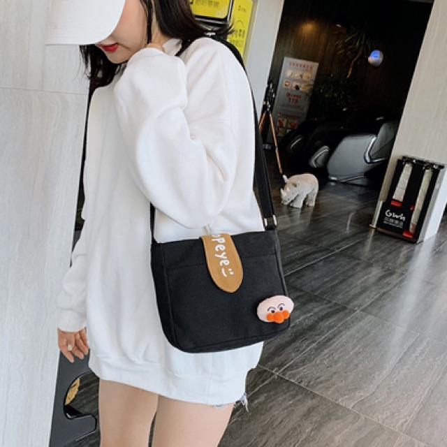 Túi xách tote vải nữ đeo chéo Hot 2020 PEYE TV04