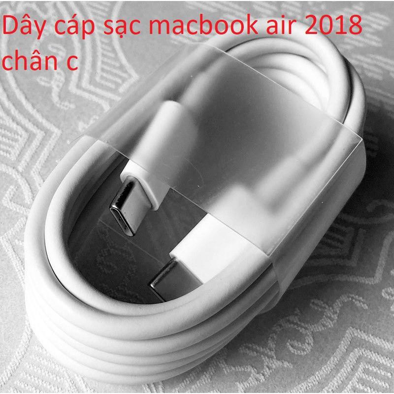 Dây cáp sạc macbook air  2018 chân c - 14699893 , 2367560181 , 322_2367560181 , 290000 , Day-cap-sac-macbook-air-2018-chan-c-322_2367560181 , shopee.vn , Dây cáp sạc macbook air  2018 chân c