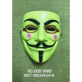 Mặt nạ hacker vàng kẻ mắt (Bản đặc biệt) mã sp PA1086