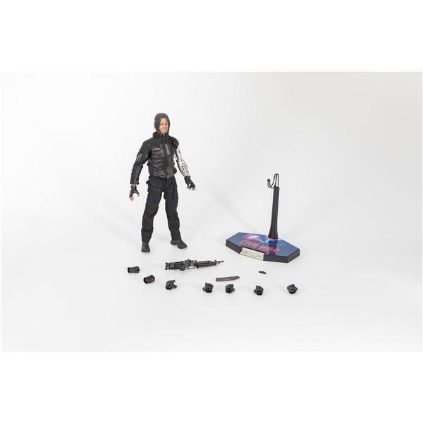 Double Alliance HC Captain America 3 Civil War Winter Warrior Winter Soldier 1/6 Movable Boxed Action Figures