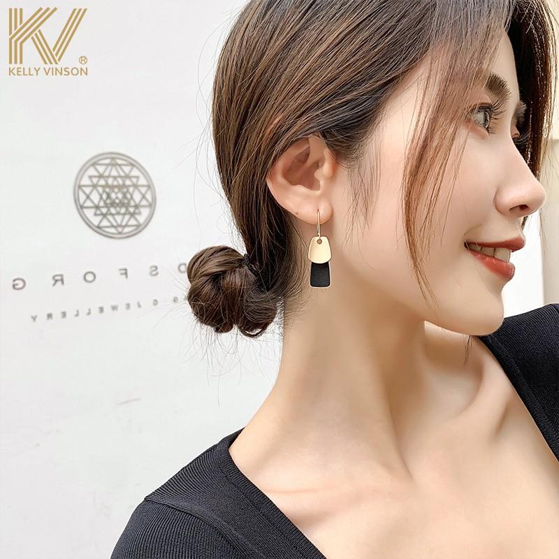 Hoa Tai Mạ Bạc Phong Cách Hàn Quốc 2020 Cho Nữ