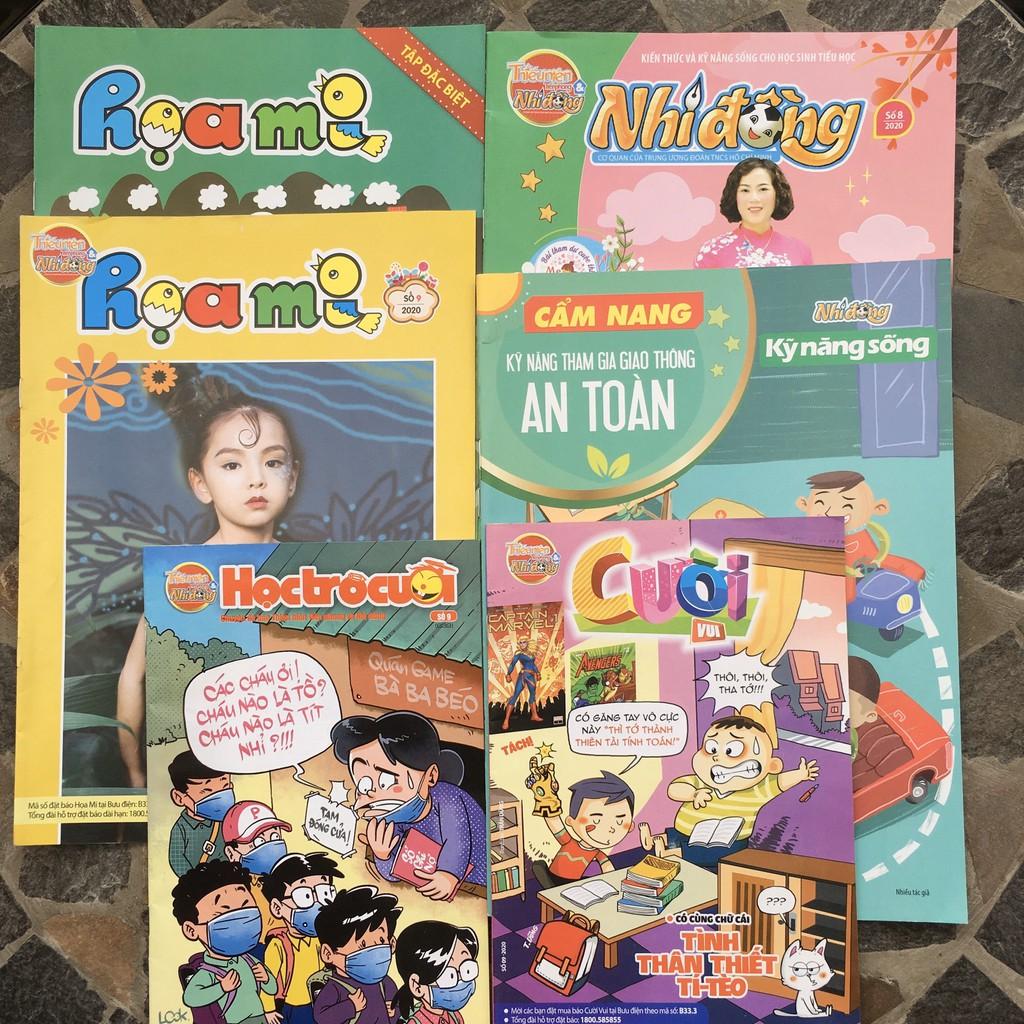 combo 6 ấn phẩm Báo Thiếu Niên Tiền Phong và Nhi Đồng