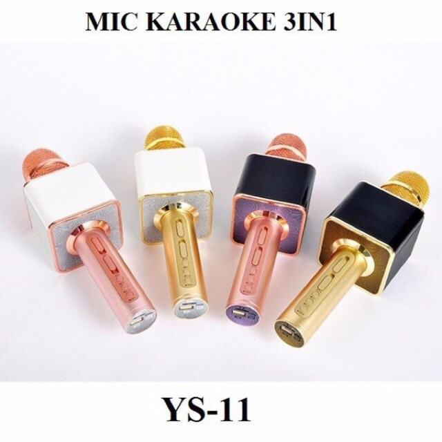Free Ship - Mic Karaoke Bluetooth Fullbox