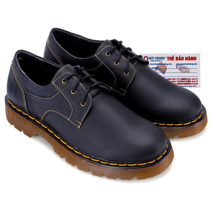 Giày nam Huy Hoàng cột dây viền chỉ màu đen HP7118 - 3349444 , 484528363 , 322_484528363 , 909000 , Giay-nam-Huy-Hoang-cot-day-vien-chi-mau-den-HP7118-322_484528363 , shopee.vn , Giày nam Huy Hoàng cột dây viền chỉ màu đen HP7118