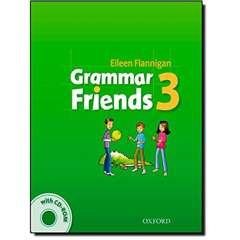 Grammar Friends 3 Student's Book With CD-ROM