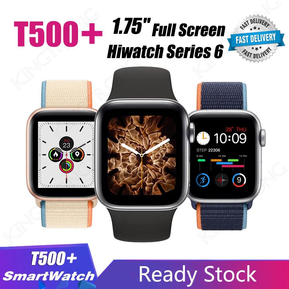 X7 / T500 / T500+ Smartwatch Bluetooth Call 44mm Smart Watch Heart Rate Monitor Blood Pressure