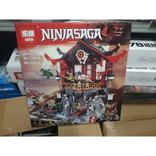 (có sẵn) lắp ráp Lego 70643 Đền Phục Sinh lepin 06078
