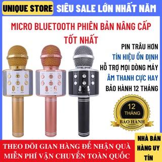 [Mã ELFLASH5 giảm 20K đơn 50K] Micro Karaoke Bluetooth Bản Pro Nâng Cấp Pin Trâu Âm Thanh Tốt Hỗ Trợ Mọi Dòng Máy
