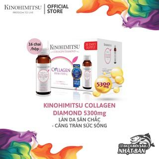 Nước Uống Đẹp Da Bổ Sung Collagen Kinohimitsu Diamond 5300 Hộp 16 chai thumbnail