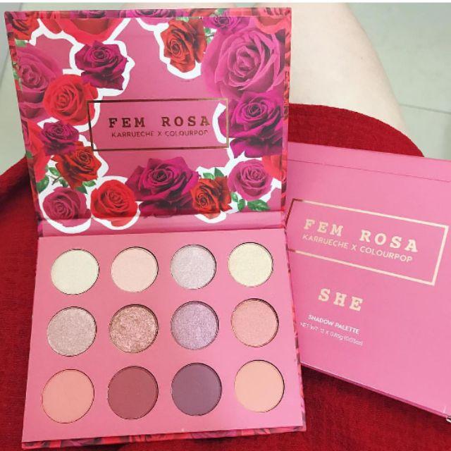Bảng mắt Colourpop FEM ROSA SHE - 2611418 , 854621447 , 322_854621447 , 580000 , Bang-mat-Colourpop-FEM-ROSA-SHE-322_854621447 , shopee.vn , Bảng mắt Colourpop FEM ROSA SHE
