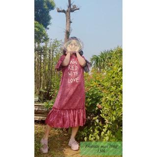 [Giá Rẻ – Hàng Đẹp] Váy Form Rộng Cho Nàng Bầu Bí