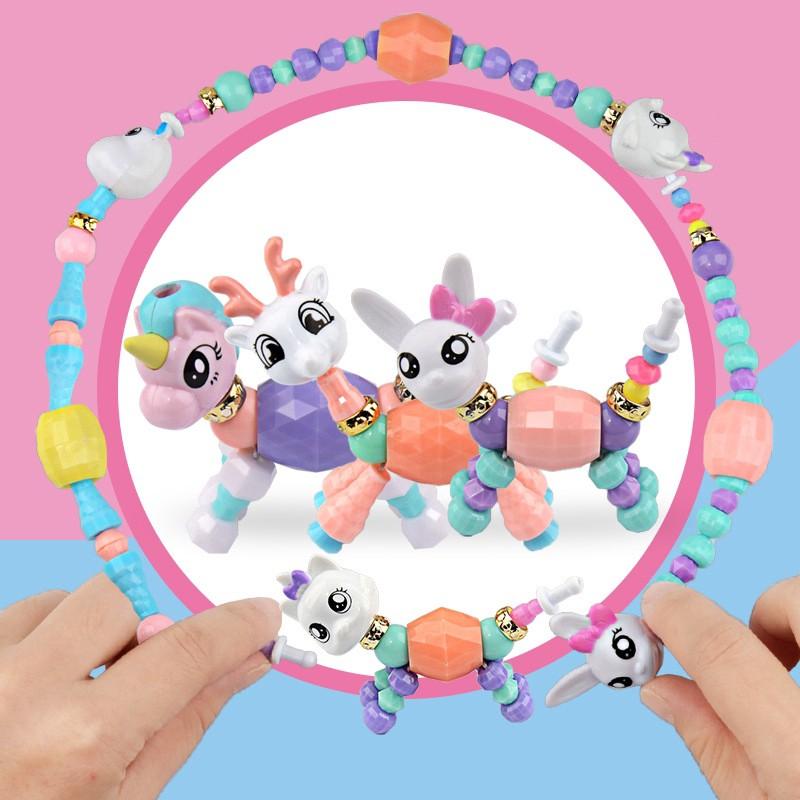 Vòng Đeo Tay Twisty Petz biến hình Thú dễ thương làm đồ chơi, quà tặng cho bé gái