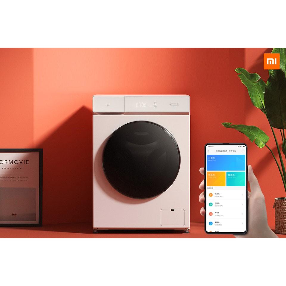 Máy giặt thông minh lồng ngang Xiaomi Mijia 10kg, có chế độ sấy khô - Chính  hãng