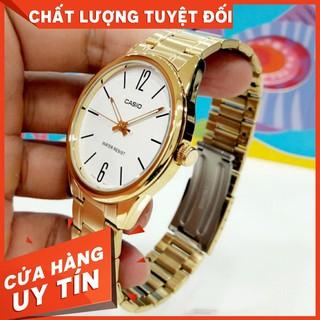 HOT Đồng hồ nam Casio MTP-V005G-7BUDF Dây Kim Loại Mạ Vàng
