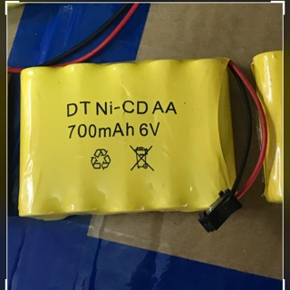 Pin NICD 6VOL 700Mah