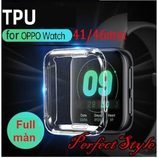 [Mã ELORDER5 giảm 10K đơn 20K] Vỏ Tpu Trong Suốt Bảo Vệ Cho Đồng Hồ Oppo Watch 46mm 41mm