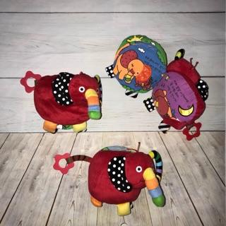 Sách vải hình con voi cho bé (đồ si tuyển)